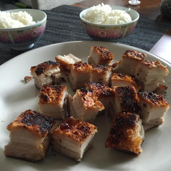 Sous Vide Chinese Crispy Roasted Pork Belly (Siu Yuk / Siu Gee Yuk / Sio  Bak)